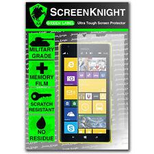 Screenknight Nokia Lumia 1520 salvaschermo INVISIBILE ANTERIORE Scudo Militare