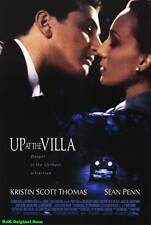 """MOVIE POSTER~Up At The Villa 2000 Double Sided D/S Original 27x40"""" One Sheet~1"""