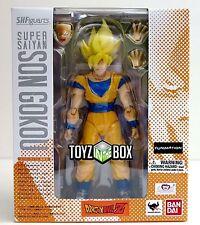 "S.H. Figuarts ""Super Saiyan Son Goku"" Dragonball Z DBZ Bandai  Action Figure"