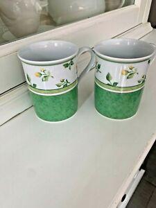 Hutschenreuther Summerdream Kaffeetasse Becher Medley grün - Neuwertig -