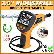 """8.5mm I più piccoli Dia 3.5"""" LCD Video Ispezione Endoscopio Tubo Videocamera AA2"""