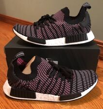 d9b64f6d2b27 Style  Running Shoes. Adidas Originals NMD R1  STLT  Primeknit in Core Black Grey Pink  CQ2386 BNIB