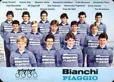 Team GS BIANCHI PIAGGIO 82 Cycling ciclismo ERIK PEDERSEN FONS DE WOLF VANOTTI