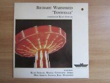 Richard Wahnfried – Tonwelle 4 Tracks RARE 1991 Korea Orig LP INSERT