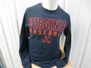 VINTAGE GILDAN Virginia Cavaliers Baseball Connor Jones  #33 MEDIUM LS SHIRT