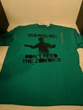Warning Don T Feed The Zombies Delta Pro weight T-Shirt
