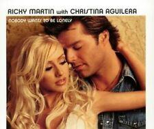 Ricky Martin Nobody wants to be lonely (2000, #6707505, & Christina .. [Maxi-CD]