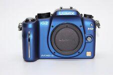 Panasonic Lumix DMC-G2 (Blue, Body Only) 12.1 MP Live MOS Mirrorless Digital Cam