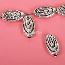 100pcs Tibetan silver flowers Charm Spacer beads loveliness charm 10mm