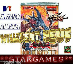 YU-GI-OH! FORCE DU DESTRUCTEUR FOTB ⓃⒺⓊⒻ 1 ére édition OU UNLIMITED EN FRANCAIS