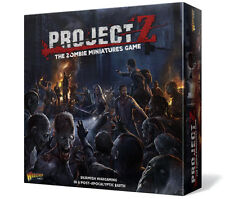 PROJECT Z - THE ZOMBIE MINIATURES GAME - WARLORD GAMES - SENT FIRST CLASS