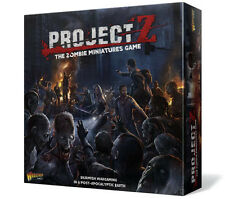 PROJECT Z ITALIAN - THE ZOMBIE MINIATURES GAME -WARLORD GAMES - SENT FIRST CLASS