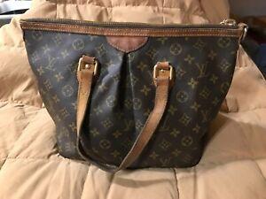 Louis Vuitton Hand Bag M40145 Palermo PM Browns Monogram 1714109