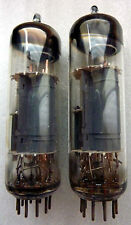 """PAIR OF ECL85 MINIWATT & MAZDA 60s """"O"""" GETTER USED TESTED"""