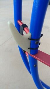 Paramotor Line Guides in Gray - Holders for PPG Trike & Quad Paraglider Lines