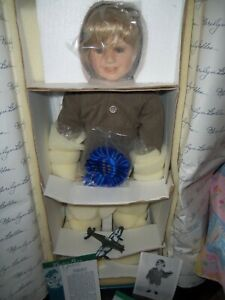 RARE Master Piece Gallery Tommy Doll By Marilyn Bolden 223/2000 COA WOW LOOK!