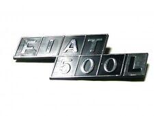 Sigla posteriore in plastica Fiat 500 L
