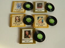 (M2.22) DOLLS HOUSE PACK OF FIVE RECORDS IN SLEEVES