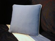 NEW Custom Ralph Lauren Driver Stripe Throw Pillow 16 inch Invis Zipper Closure