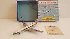 Dinky Toys - 60 F - Avion Caravelle SE 210 en boîte d'origine