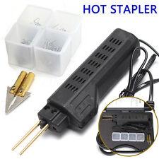 Hot Stapler Car Bumper Fender Fairing Welder Gun Plastic Repair Kit 200 Staples