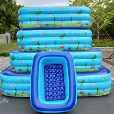 Inflatable Swimming Pool Baby Bathtub Foldable Adult Bath Tubs Water Play Fun