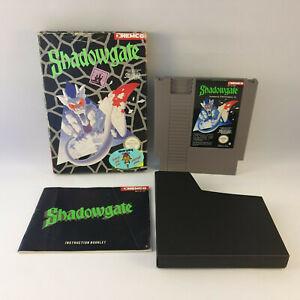 Nintendo NES - Shadowgate PAL B - Complete in Box CIB
