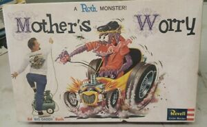 VINTAGE 1963 REVELL Ed Big Daddy Roth MOTHER'S WORRY. Started.