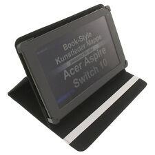 Funda para Acer Aspire Switch 10 Book Style Tableta Protectora Soporte Blanco