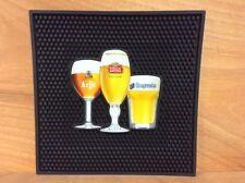 "Stella Artois Leffe Hoegaarden Best of Belgium Bar Mat 12"" x 12""  NEW & F/Shipn."