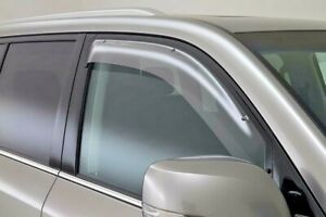 LEXUS LX570 WEATHERSHIELD DRIVERS SIDE FROM NOV 07> NEW GENUINE ACCESSORY