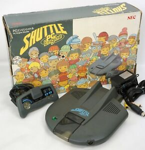 PC-Engine SHUTTLE PI-TG2 Console System Boxed Tested Ref 9X063303B