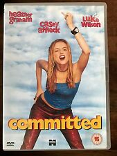 Heather Graham Casey Affleck COMMITTED ~ 2000 Bunny Boiler Romcom   UK DVD