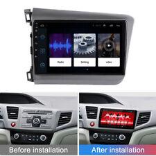 For 2012-15 Honda Civic 9'' Car Stereo Radio Android 9.1 GPS 1+16GB Navigation