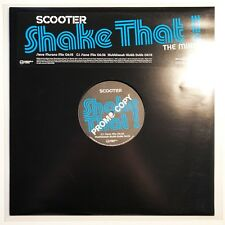 """♪♪ SCOOTER - SHAKE THAT  THE MIXES  -THE NETHERLANDS  PROMO 12"""" VINYL RARE ♪♪"""