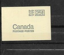 pk29605:Stamps-Canada #BK69 Centennial Queen 3x1,1x6,2x8 cent Booklet - MNH