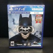 Batman Arkham VR PS4 Playstation VR Game (PSVR) Brand New Sealed