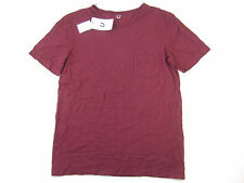 U CLOTHING BURGUNDY RED LARGE POCKET TSHIRT MENS NWT NEW