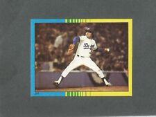 1982 O-Pee-Chee Baseball Sticker World Series #257 Fernando Valenzuela *MINT*