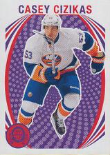 13-14 O-Pee-Chee BLANK BACK Casey CIZIKAS #150 - Islanders