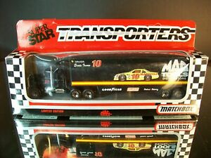 Ernie Irvan #10 Mac Tools Distributor 1991 1:87 Racing Team Transporter Matchbox