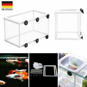 Aquarium Netz Ablaichkasten Aufzuchtskasten Ablaichnetz Aufzuchtbecken S/L DE