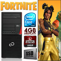 PC COMPUTER GAMING QUAD CORE I5 RAM 8GB SSD + HDD VIDEO DEDICATA 4GB WINDOWS 10