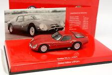 Minichamps 1/43 - Alfa Romeo Giulia TZ 2 1965 Rouge