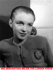 MARILYN MONROE 1948 HAIR PULLED BACK 1xRARE5X7 PHOTO