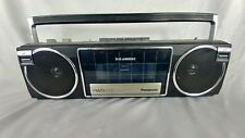 Panasonic Fm25 Ambience Am/Fm Radio Cassette Boombox - Silver *Parts Only*