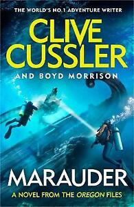 """CLIVE CUSSLER and Boyd Morrison. """"MARAUDER"""" HARDBACK FIRST EDITION 2020  370 pgs"""