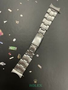 "Rolex Oyster Midsize 17mm Stainless Steel Bracelet 7205 ""60"" ends"