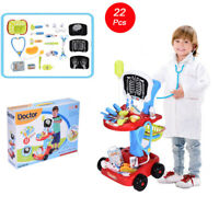 Doctor Pretend Play Set With Electric Analog X-Ray Screen And Stethoscope Toy IN