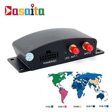 Car External Digital TV Box Mobile DVB-T T2 MPEG4 ATSC Receiver Tuner For Europe